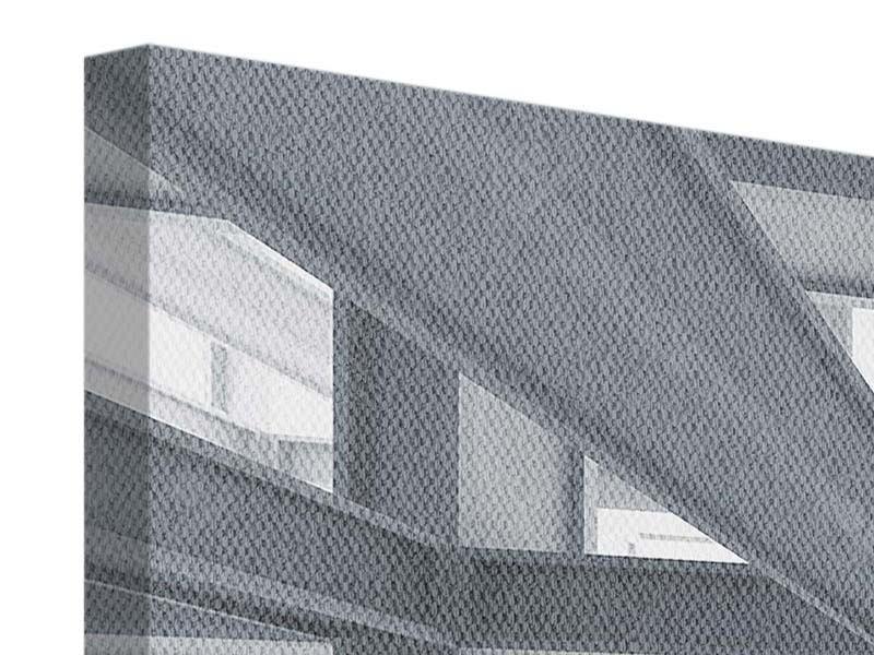 Leinwandbild 4-teilig Räume