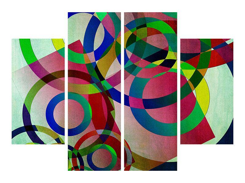 Leinwandbild 4-teilig Wandkunst