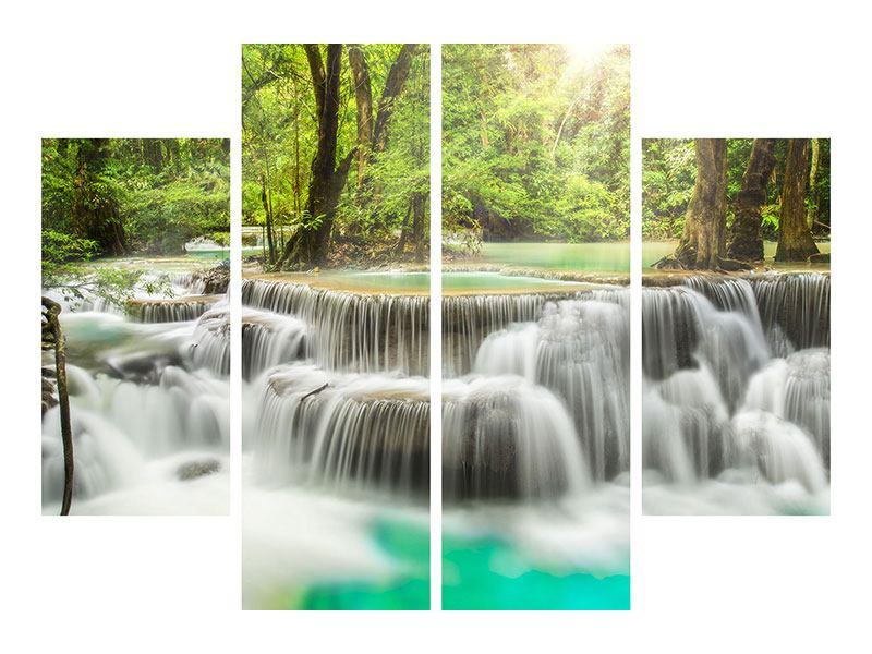 Leinwandbild 4-teilig Erawan