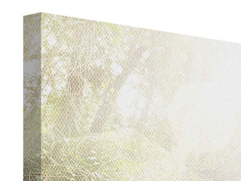 Leinwandbild 4-teilig Die grüne Lagune
