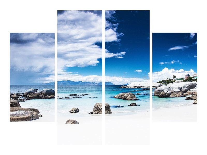 Leinwandbild 4-teilig Inselfeeling