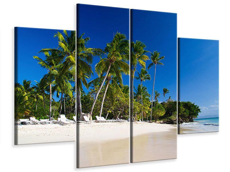 Leinwandbild 4-teilig Aloha