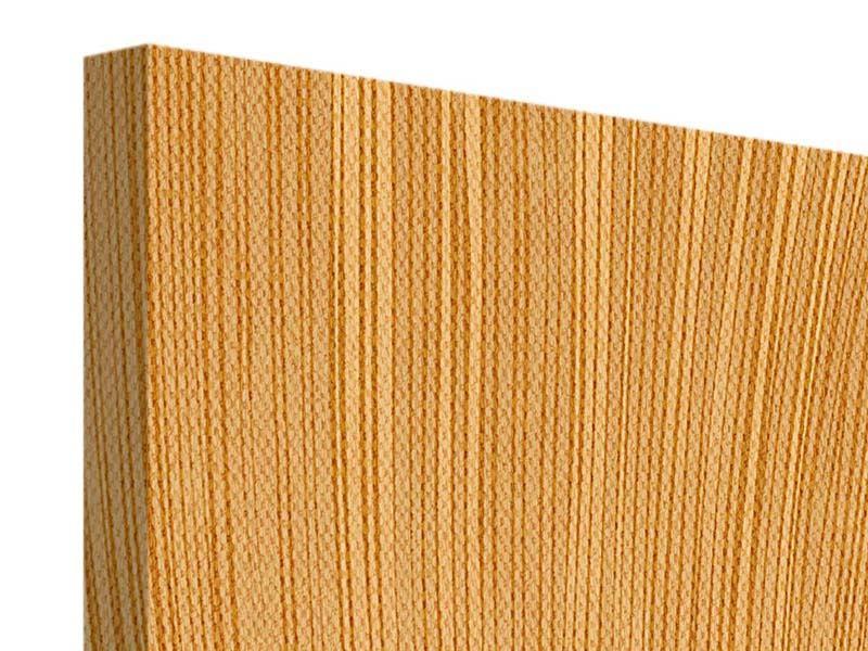 Leinwandbild 4-teilig Wooden