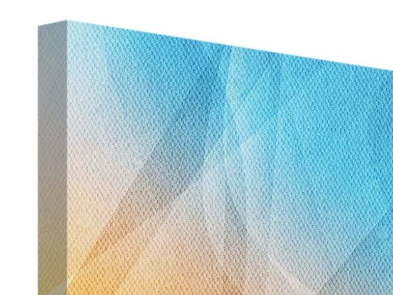 Leinwandbild 4-teilig Abstrakte Fliessende Farben