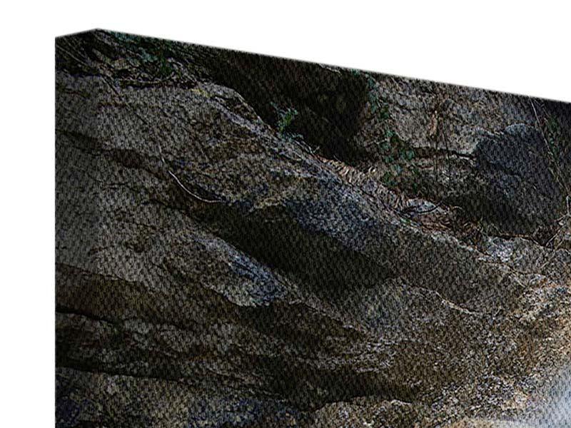 Leinwandbild 4-teilig Imposanter Wasserfall