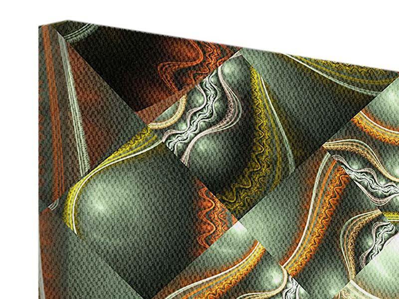Leinwandbild 4-teilig Fraktales Bild