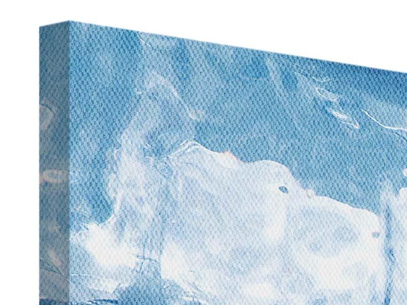 Leinwandbild 4-teilig Baikalsee-Eis