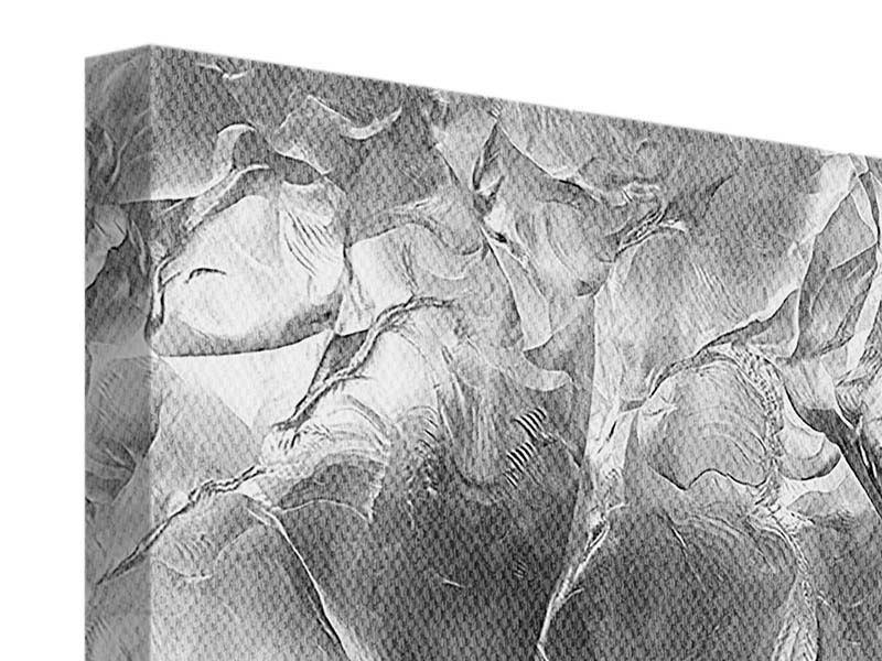 Leinwandbild 4-teilig Eiswand