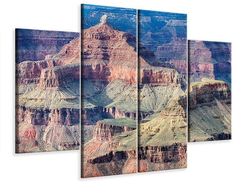 Leinwandbild 4-teilig Gran Canyon