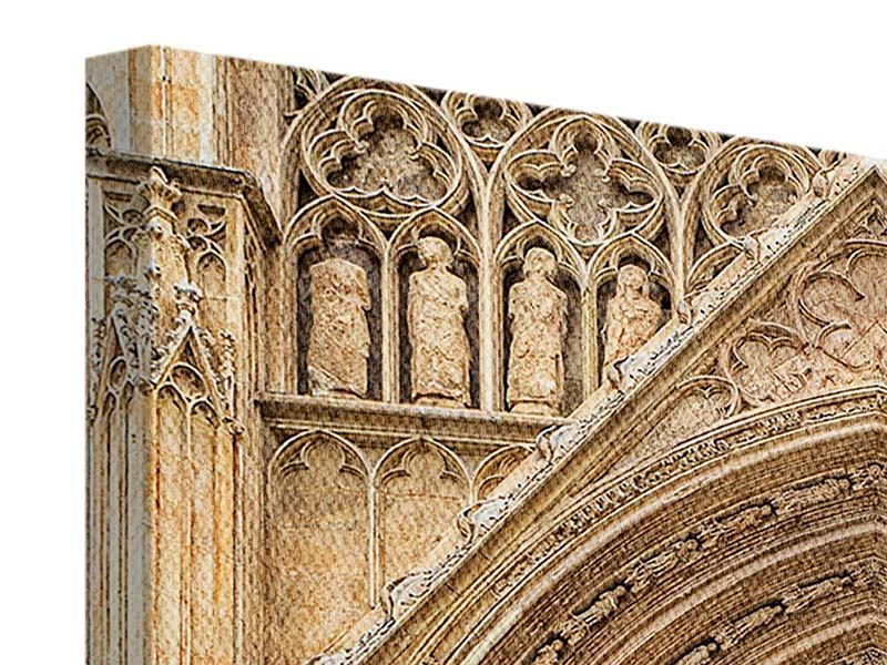 Leinwandbild 4-teilig Kathedrale von Valencia