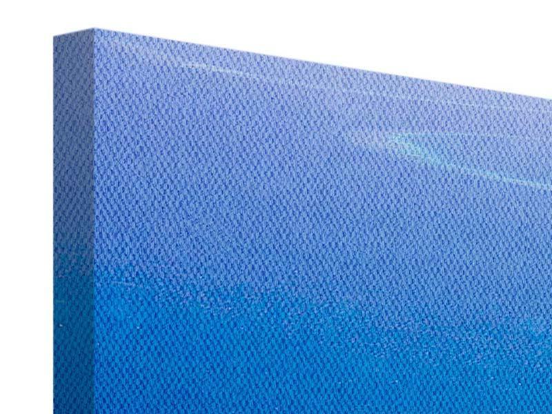 Leinwandbild 4-teilig Reif für die Trauminsel