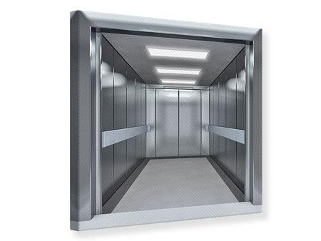 Leinwandbild Aufzug