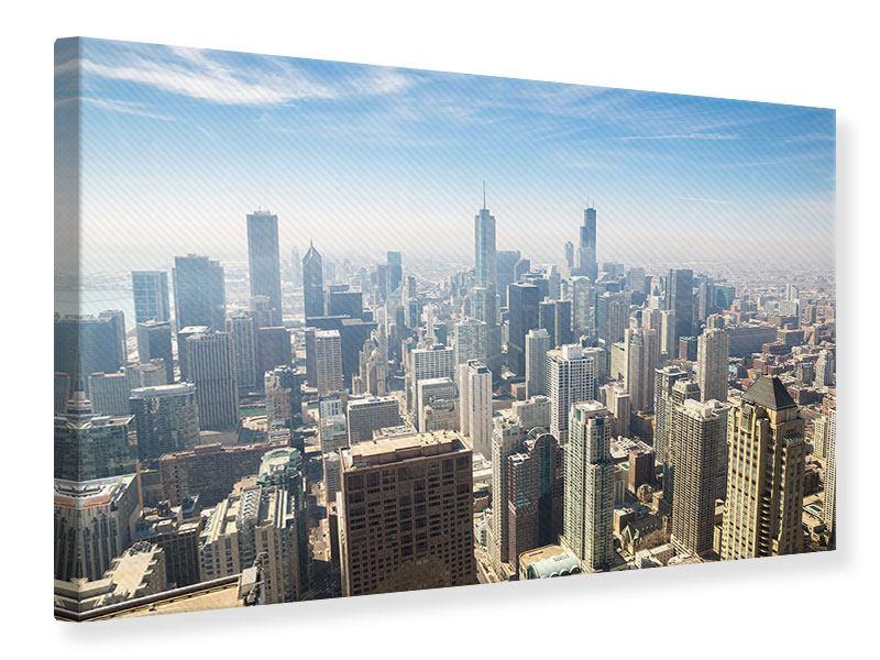 Leinwandbild Wolkenkratzer Chicago