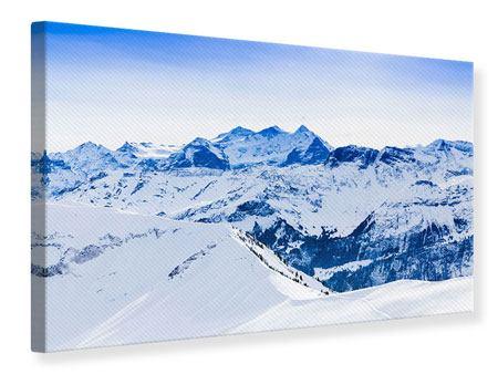 Leinwandbild Die Schweizer Alpen