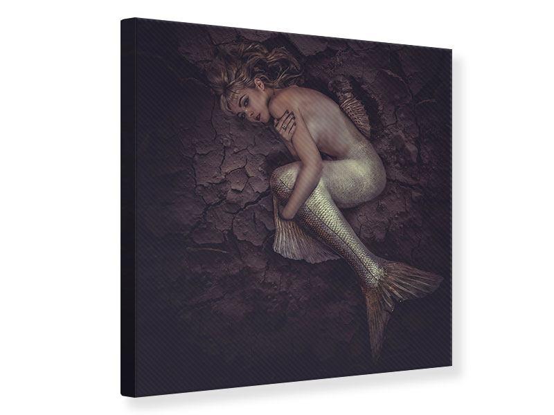 Leinwandbild Meerjungfrau