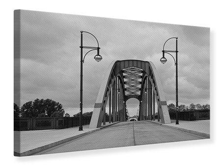 Leinwandbild Poetische Brücke