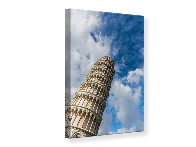 Leinwandbild Der Tum von Pisa