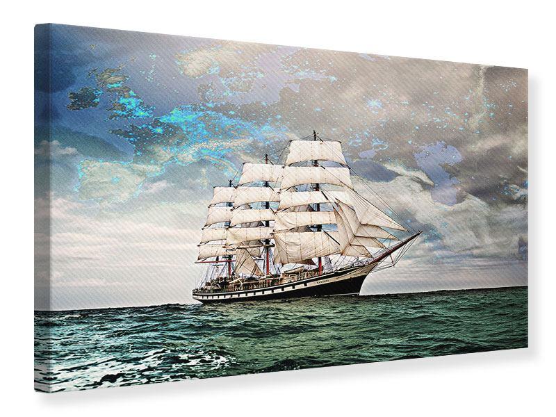 Leinwandbild Segelschiff