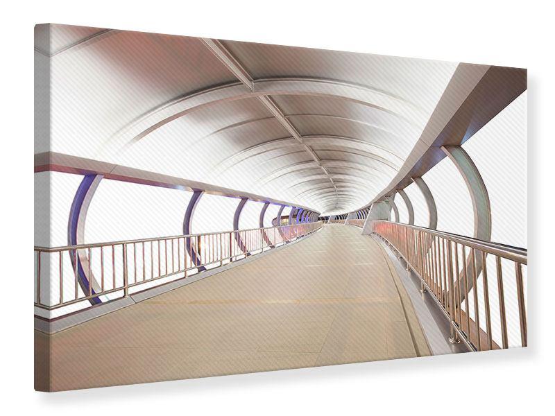 Leinwandbild Brückenfeeling