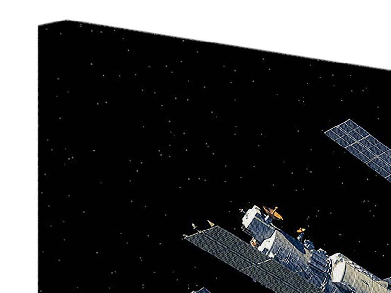 Leinwandbild Raumstation