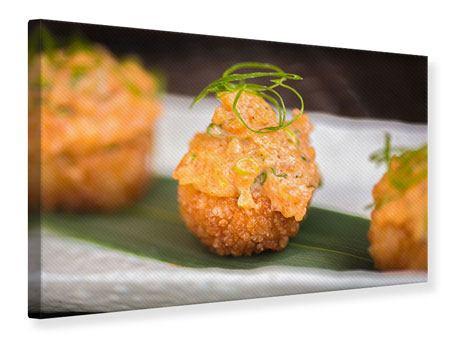 Leinwandbild Asiatische Küche