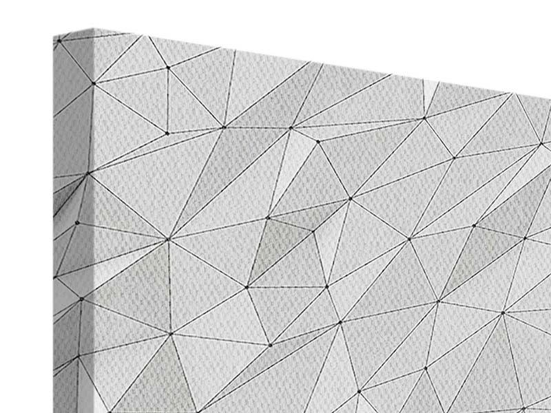 Leinwandbild 3D-Geo