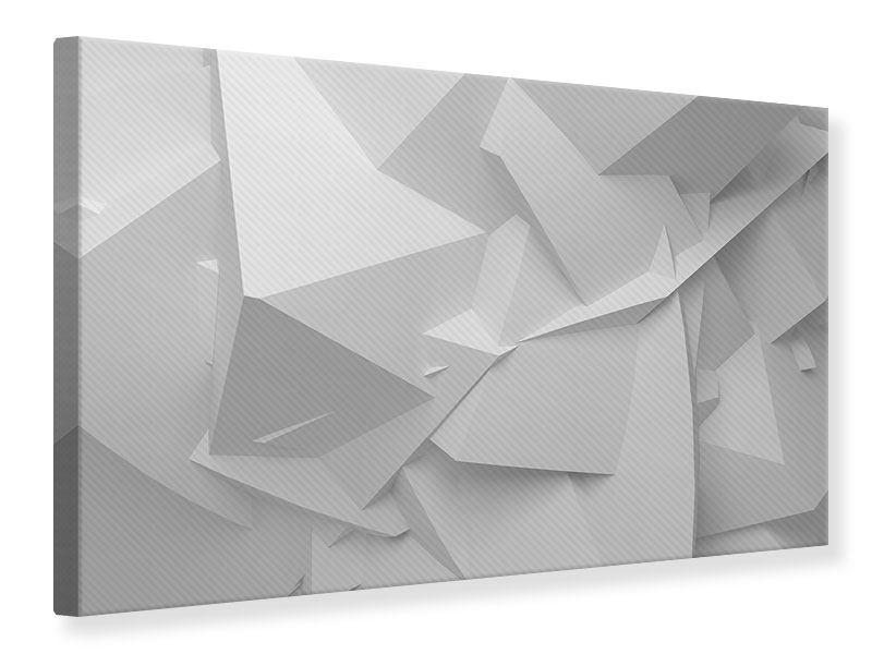 Leinwandbild 3D-Raster