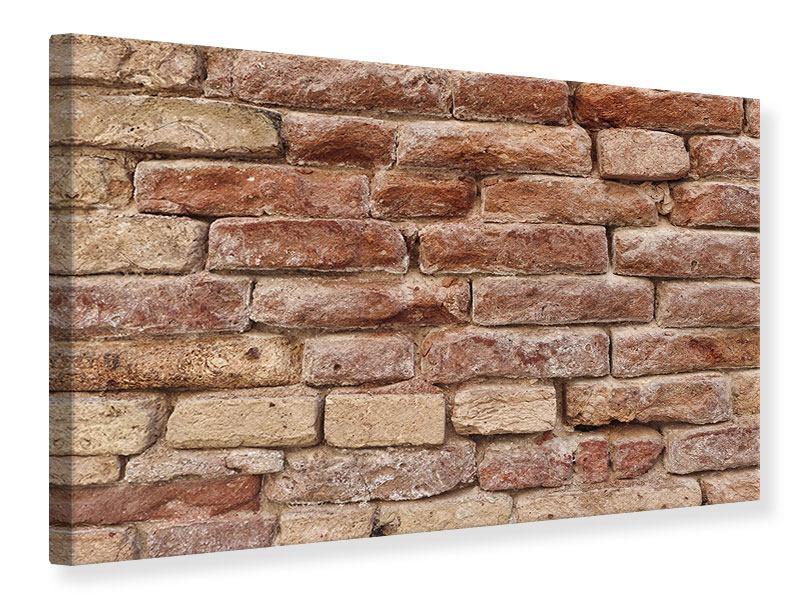 Leinwandbild Loft-Mauer