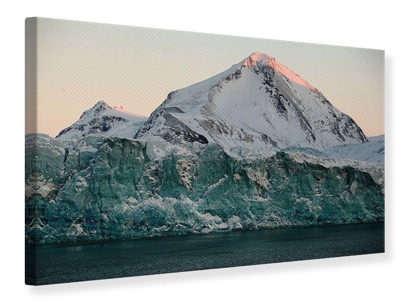 Leinwandbild Die Antarktis