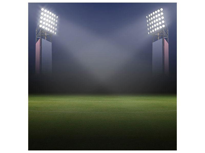 Leinwandbild Fussballstadion