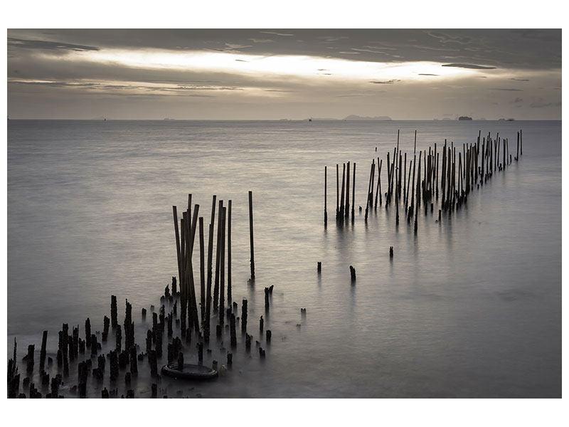 Leinwandbild Das Meer und die Träne