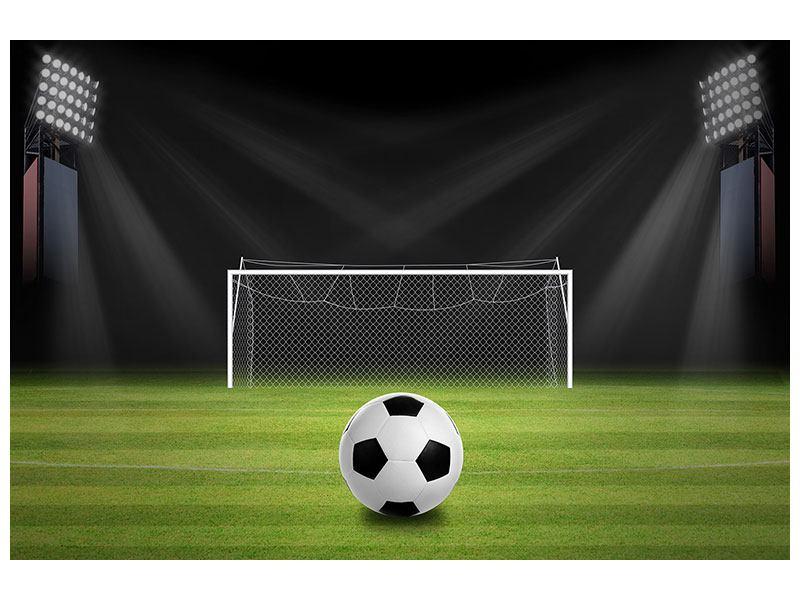 Leinwandbild Fussball-Tor