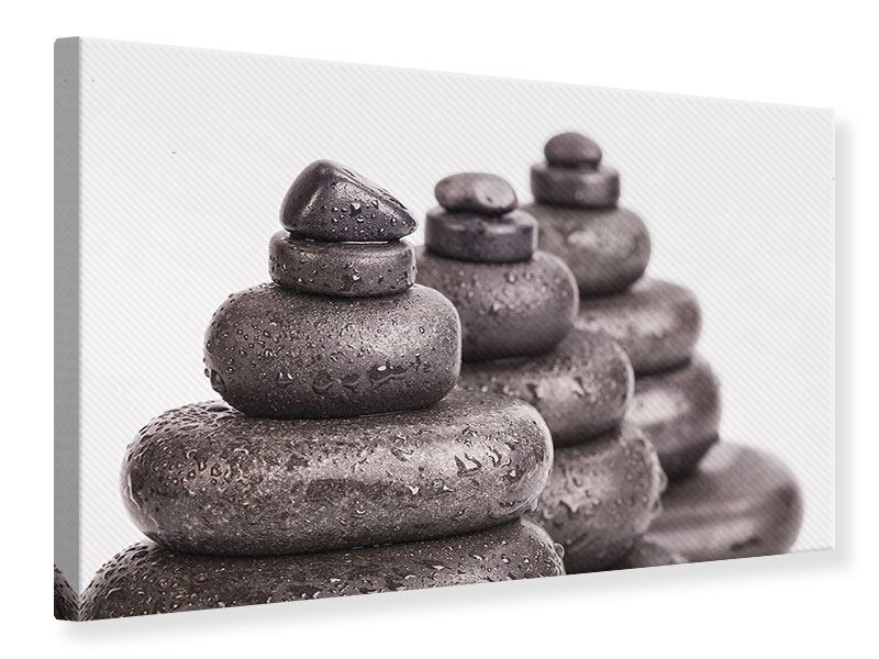 Leinwandbild Die Kraft der Steine