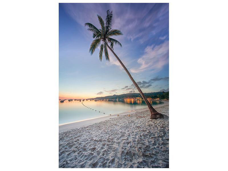 Leinwandbild Strandfeeling