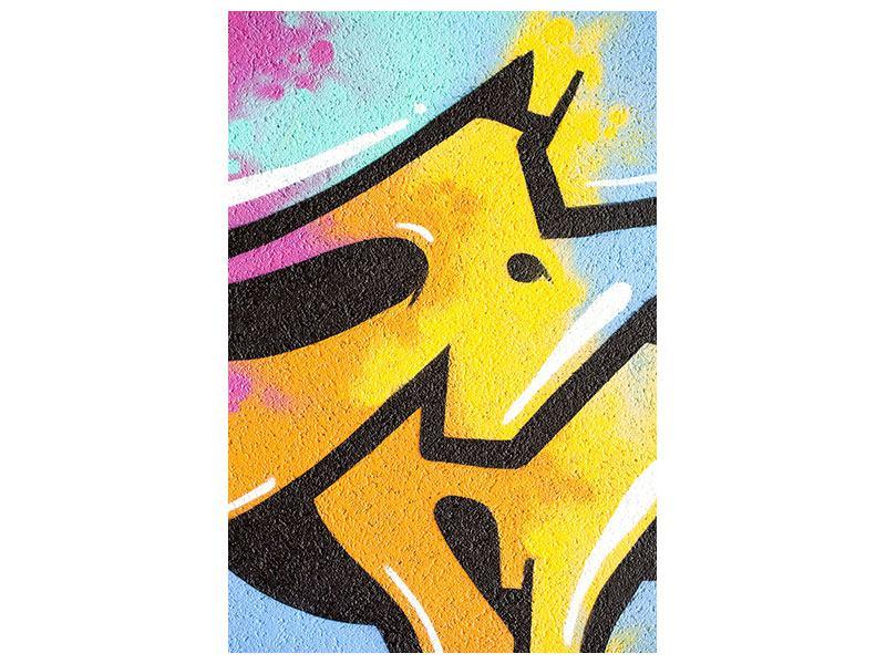 Leinwandbild Graffiti Colour Your Life