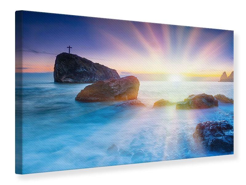 Leinwandbild Mystisches Meer