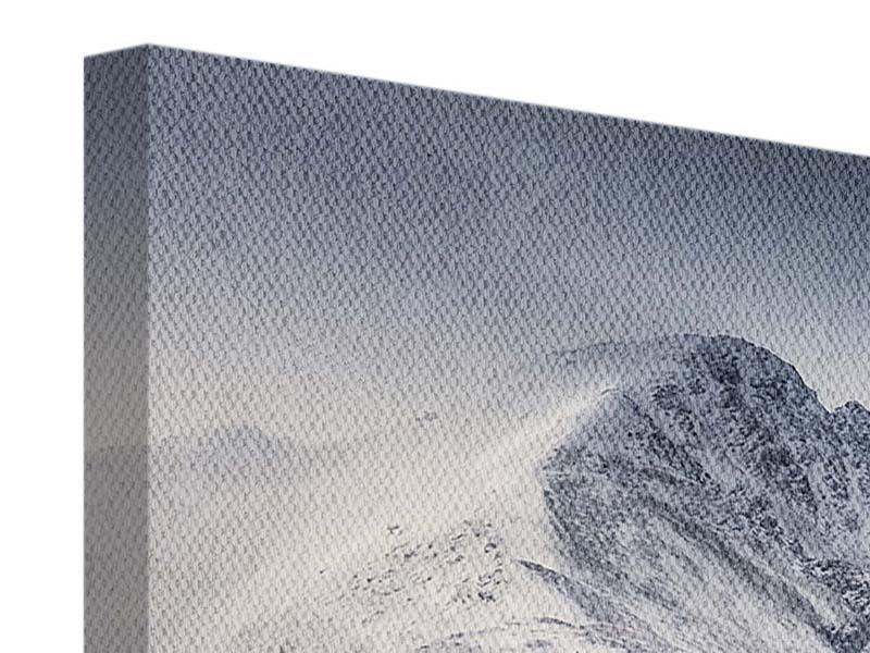 Leinwandbild Die Berge der Schweiz