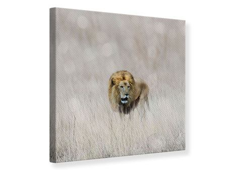 Leinwandbild Der Löwe