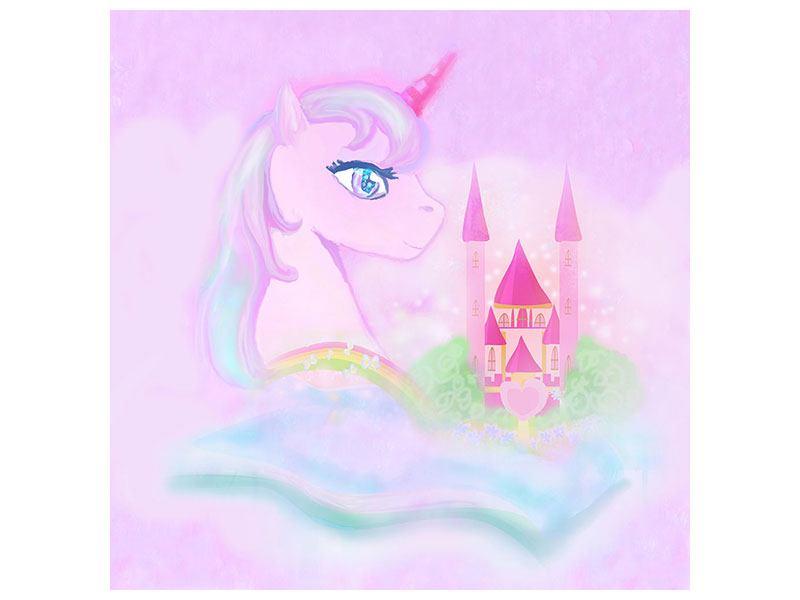 Leinwandbild Märchenschloss