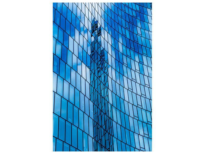 Leinwandbild Glashaus