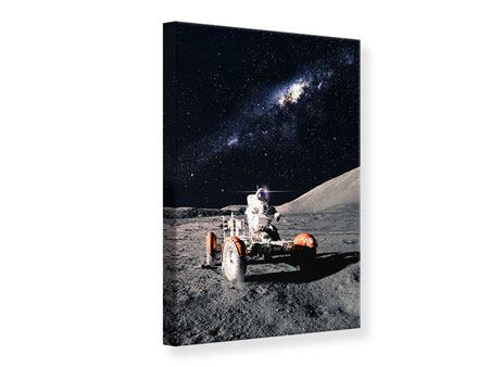 Leinwandbild Astronauten-Arbeit