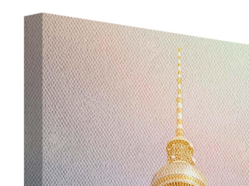Leinwandbild Berliner Fernsehturm