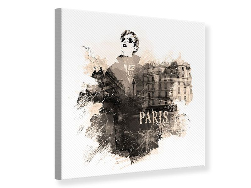 Canvas Print Paris Model