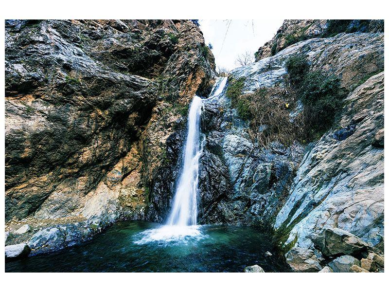 Leinwandbild Bewegtes Wasser