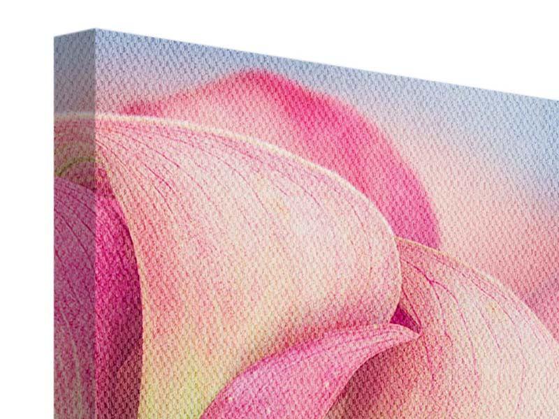 Leinwandbild Der Lilienstrauss