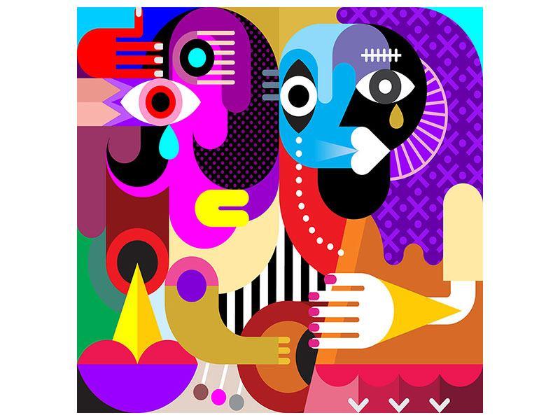 Leinwandbild Moderne Kunst People
