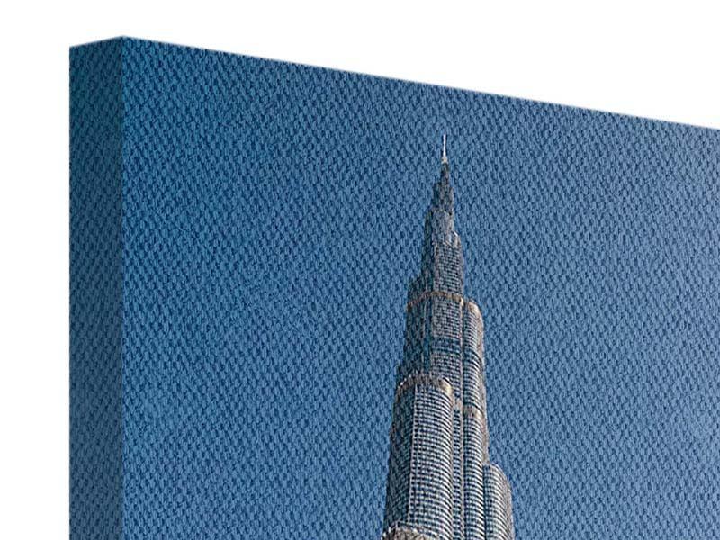 Leinwandbild Wolkenkratzer Dubai