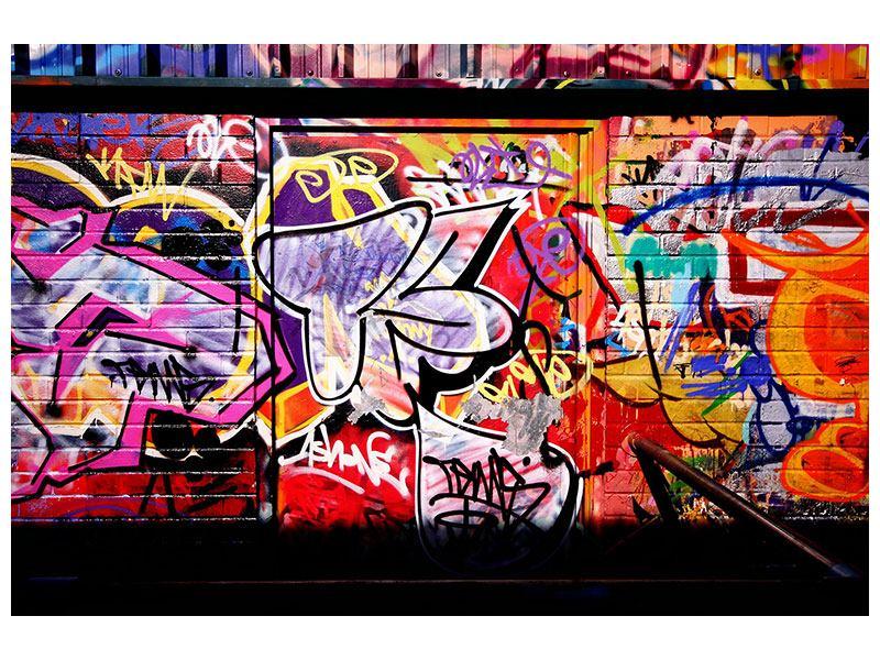 Leinwandbild Graffiti Kunst