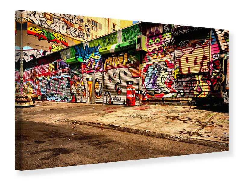 Leinwandbild NY Graffiti