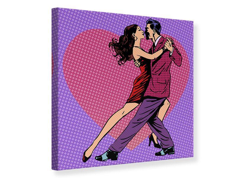 Leinwandbild Pop Art Lambada